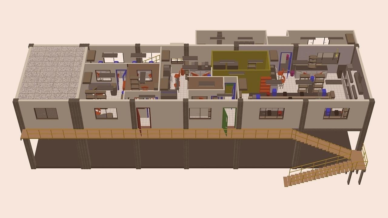 Utiliser les plans 3D pour agencer votre logement